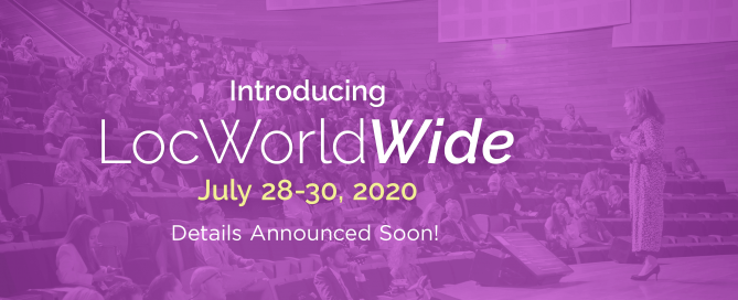 LocWorldWide42 - Coming Soon
