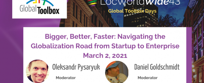 Bigger, Better, Faster: Navigating the Globalization Road from Startup to Enterprise, Engage and Build a Sphere of Influence!