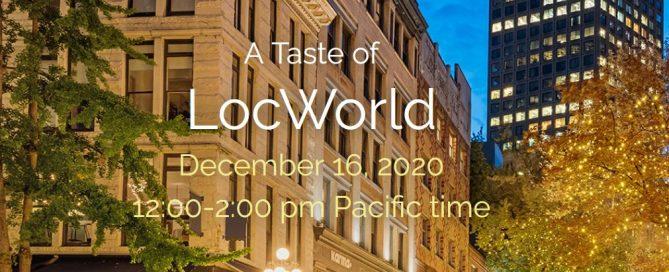A Taste of LocWorld